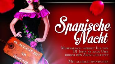 Spanische Nacht Plakat
